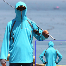 Fishing Clothing Outdoor Quick-Drying Anti-UV Breathable Sun Protection Shirt Coat Summer Man Sport Clothes Fishing Accessories new air conditioning vest outdoor fishing photographic cooling clothes wear resistant anti uv radiation protection breathable
