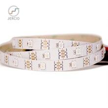 JERCIO RGB 1m  4m 5m WS2812B Led Strip,Individually Addressable Smart Strip,Black/White PCB IP30/65/67 DC5V