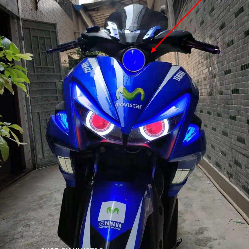 nvx modified yamaha light motorcycle parts spotlight nvx155 front l155 lamp hid headlamp highlight headlight head motorcycles