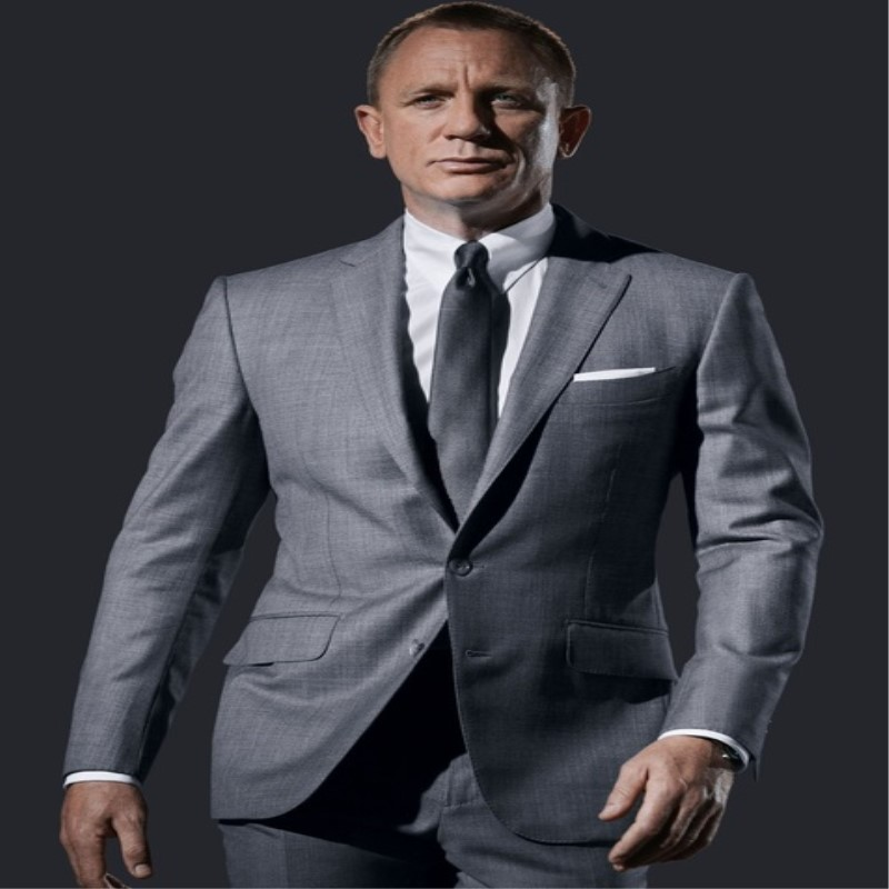Benutzerdefinierte Männer Anzüge Light Grey Formal Anzügen Tailored Gemacht Blazer Smoking 2 Stücke Slim Fit Terno Masculino (jacke + Pants)-in Anzüge aus Herrenbekleidung bei  Gruppe 1
