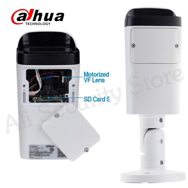 Dahua-caméra IP 6mp   Fente pour carte Micro SD 2.7-13.5mm 5X Zoom VF Lens PoE WDR CCTV avec support