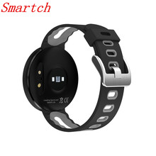 Smartch DM58 Смарт Браслет 2017 Приборы для измерения артериального давления сердечного ритма Мониторы IP68 Водонепроницаемый напоминание трекер спортивные часы