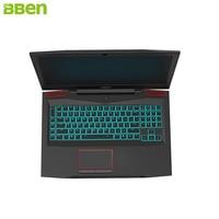 Bben G17 Windows 10 Intel I7 7700HQ CPU NVIDIA GTX1060 16G RAM 256G 1T ROM RGB
