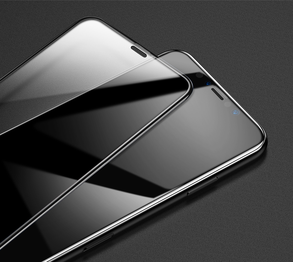 Baseus 0.3mm Tempered Glass For iPhone Xs Xs Max XR Screen Protector Full Coverage Protective Glass For iPhone X Xs Xs Max 2018