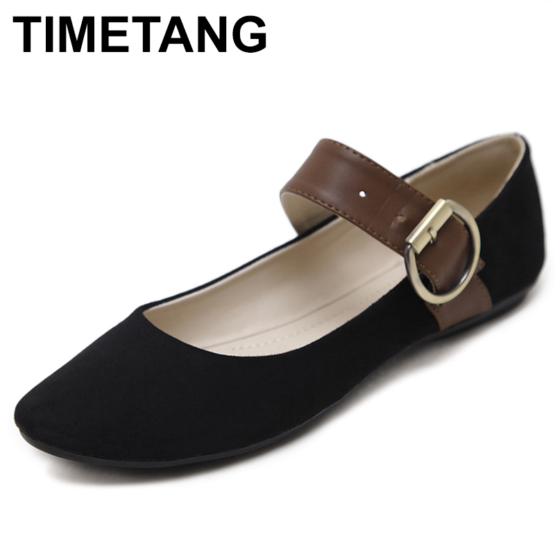 TIMETANG Shoes Women Spring Autumn New women flats Driving Shoes Slip on Casual Comfortable solid color mother shoes free C143 chilenxas 2017 new spring autumn soft leather breathable comfortable shoes flats men casual fashion solid slip on handmade