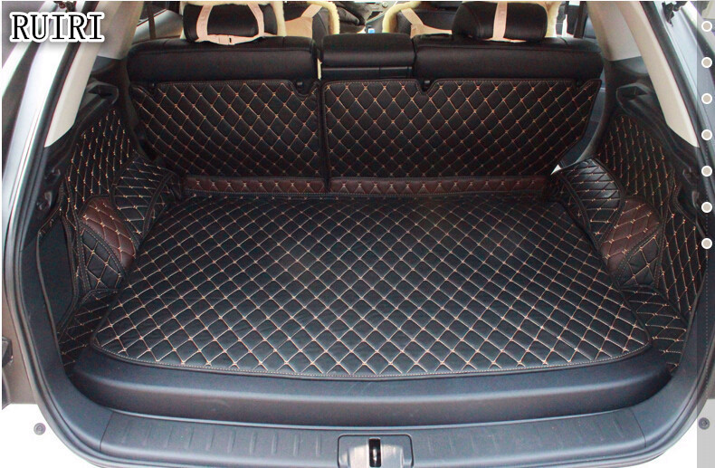 High quality! Special trunk mats for Lexus RX 450h 2014-2009 waterproof boot carpets cargo liner for RX450h 2013,Free shipping
