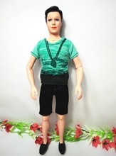 1 Pc  Ken doll 12″ High / with Clothing Set Shoes / for Barbie Boy Bridegroom Doll Birthday Gift Baby Toy