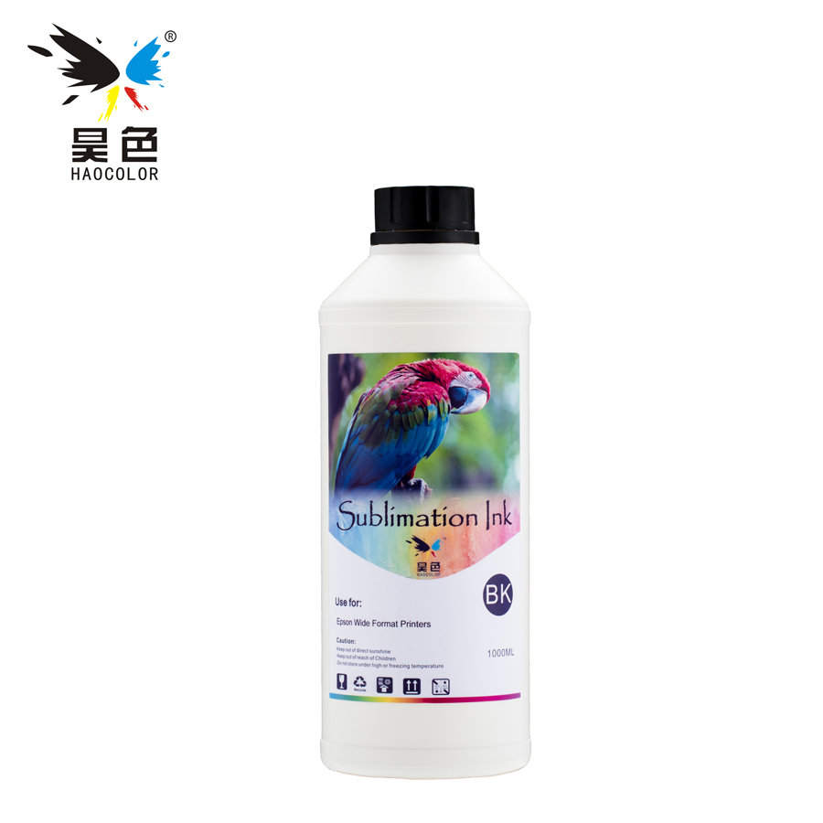 1000ML black Sublimation Ink kits for epson all digital stylus cx4300 sx130 3880 4880 7600 ink cartridge with high transfer rate 400ml universal sublimation ink for epson printers heat transfer ink heat press sublimation ink