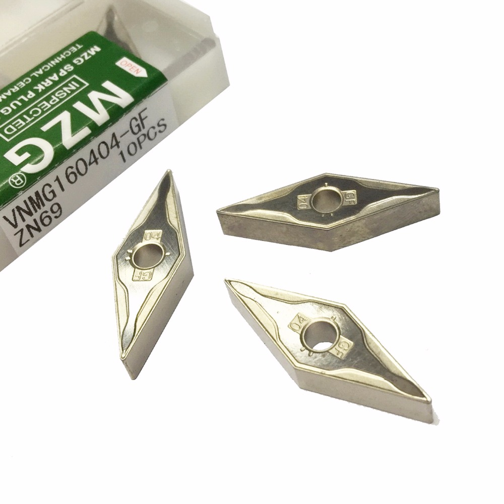 MZG VNMG160404-MT ZN60 CNC Cutting Boring Turning Solid Carbide Cermet Inserts for Steel Highlight MVJN MVUN HolderMZG VNMG160404-MT ZN60 CNC Cutting Boring Turning Solid Carbide Cermet Inserts for Steel Highlight MVJN MVUN Holder