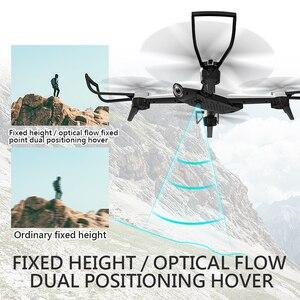 Image 4 - Drone SG106 FPV RC com câmera dupla 4k e fluxo óptico, aeronave quadcopter com vídeo aéreo, 1080P HD, brinquedos para crianças