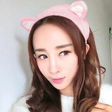 New New Arrived Girl's Fashion Cute Cat Ears Headband Hair Head Band Party Gift Headdress 6 Colors