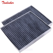 Cabin filter Fit For Ford Explorer 2011 2017 3.5L 2.3 2.0T 3.5T Built in Cabinfilter Activated carbon Air conditioning filter