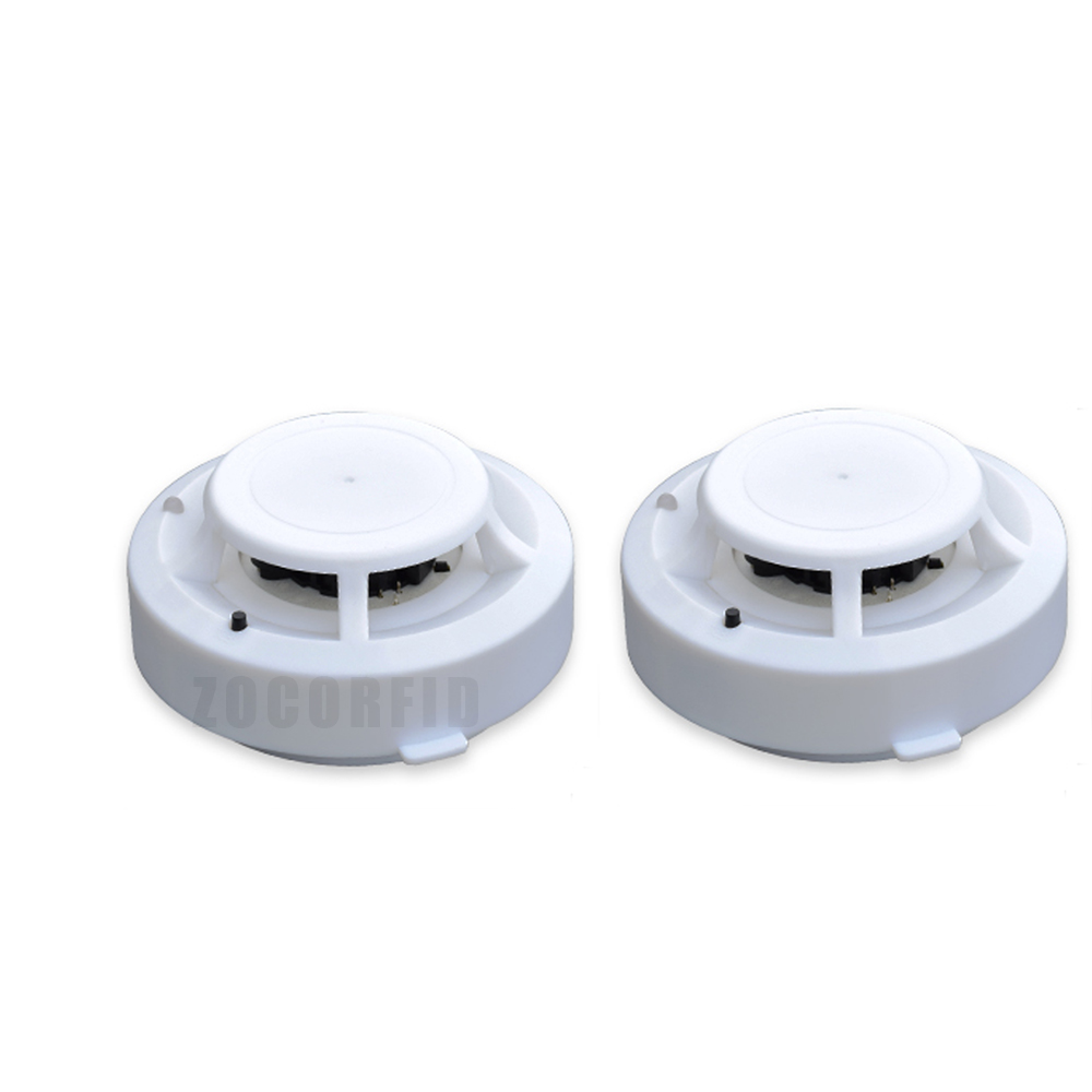 2pcs/lot Standalone Fire Alarm Cigarette Smoke Detector Home Office Smoke Sensor Alarm Warn Safety Siren Sensor W/ 9V Battery