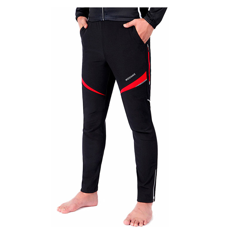 Motocross Off-Road Trousers Motorcycle Racing Pants+Mens Windproof Riding Sport Pants Knee Protective Guards