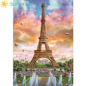 Image 5 - Sunsfun fondos de vinilo globo de fotografía París Torre Eiffel Fondo impreso para fotografía foto de niños