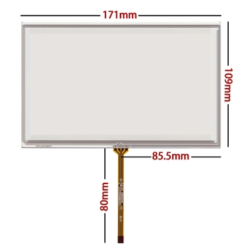 7.3-inch IS350 IS250 IS300 touch screen 171*109 audio DVD navigation glass panel, free delivery