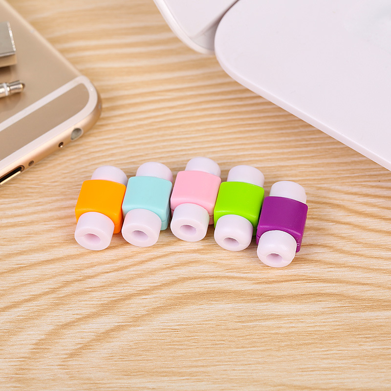 20pcs New <font><b>Charger</b></font> Wire <font><b>Protector</b></font> <font><b>Cable</b></font> Protective Case Line Cord Cover <font><b>Cable</b></font> Winder Cover For iPhone USB Charging <font><b>Cable</b></font>