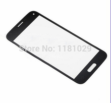 Whole Sale Replacement LCD Front Touch Screen Glass Outer Lens for Samsung Galaxy S5 mini Black/White With LOGO Free shipping
