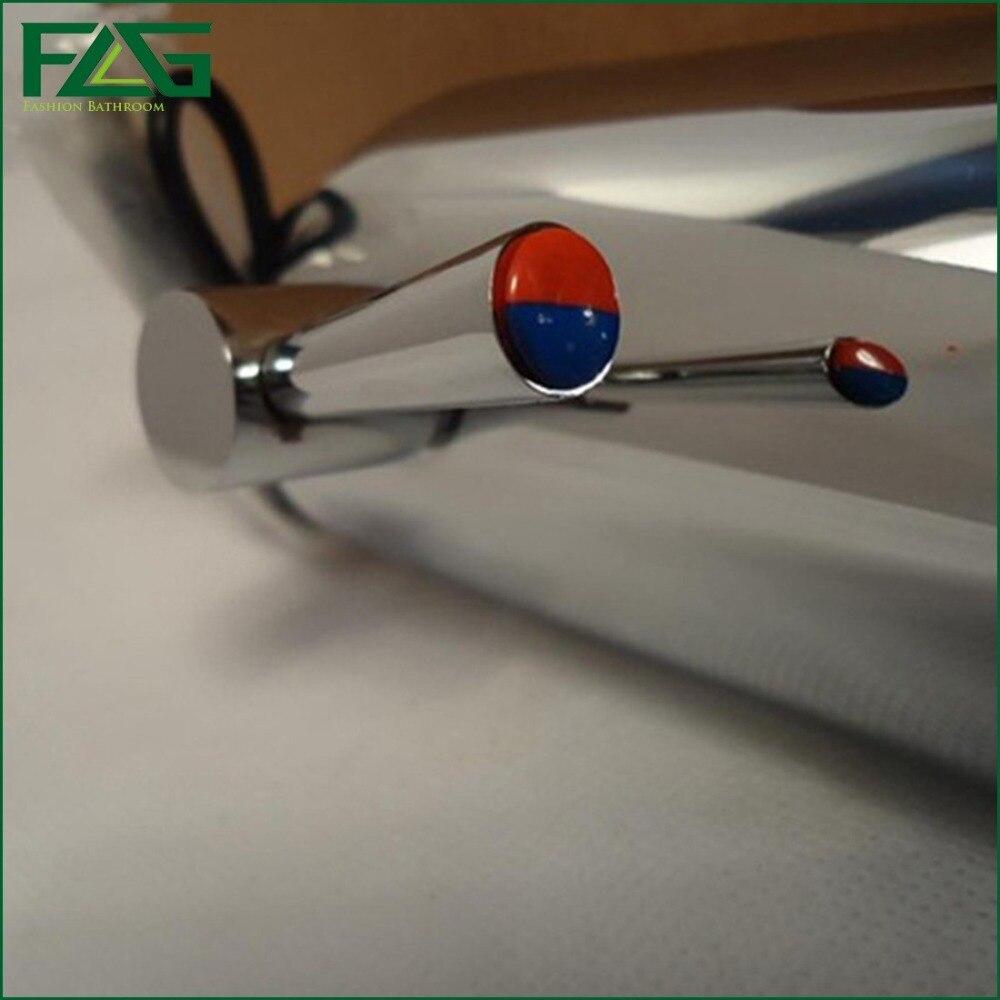 FLG смеситель для ванной комнаты, водосберегающий аккумулятор, автоматический сенсор, инфракрасный датчик, Смеситель для холодной и горячей ...