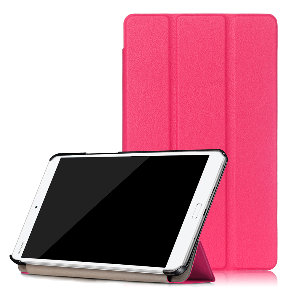 New PU Leather Cover For Huawei MediaPad M3 8 4 Inch Tablet Slim Flip Folding Stand
