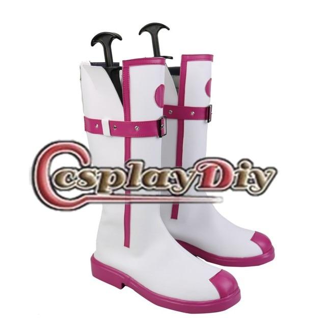 VOCALOID3 ia Cosplay Botas Sapatos VOCALOID Custom Made D03324