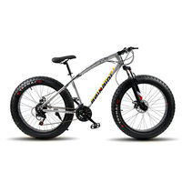 Quality And Reliable Fetbike Fat Bike 7 21 Speed 26x4 0 Mountain Bike Shock Absorber Yellow
