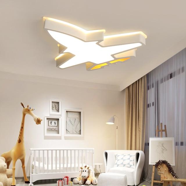 ילדי ילדי חדר תאורה מודרני תקרת מנורת plafondlamp led תינוק חדר שינה מחקר חדר Luminaria LED תקרת אורות