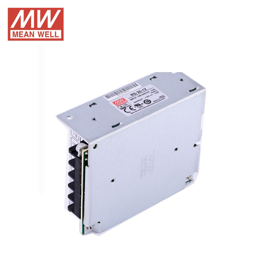 MW Mean Well RS-35-12 12V 3A 36W Single Output Switching Power Supply