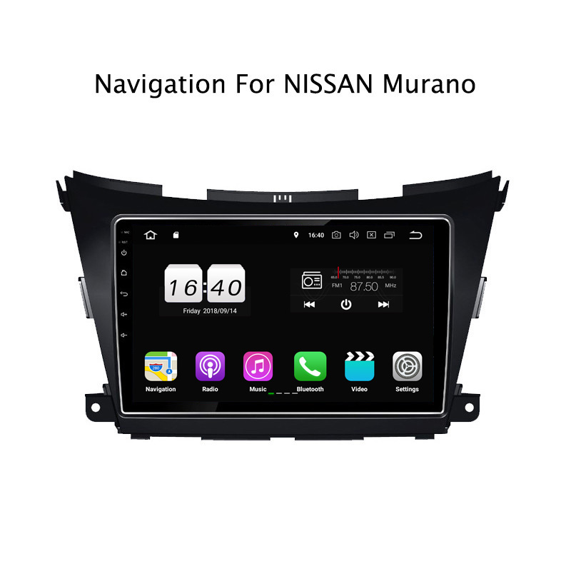 "10.1"" 2G RAM 16G ROM Android 8.1 Car DVD Multimedia Player For Nissan Murano 2015-2017 GPS Navigation Radio Stereo Audio"