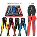 MC4 Solare Fotovoltaico Connettore di Piegatura Della Pinza Del Set2.5-6.0mm2 AWG14-10 Elettricista Spogliarellista Filo Multifunzione Utensili a Mano