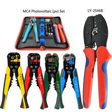 Pince à sertir, connecteur photovoltaïque solaire AWG14 10, pince électricien, dénudeur de fils multifonctions, outils à main