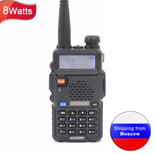 BaoFeng UV 5R 8W Dual Band 136 174MHz & 400 520MHz Walkie Talkie FM VOX UV 5R ham radio Dual Display
