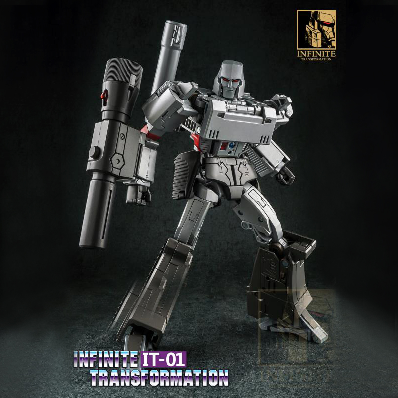 INFINITE Galvatron MGTron Transformation Robot Toys IT-01 MP36 Emperor Of Destruction Transform In Action Figure Model сумка emperor mk20380 2014