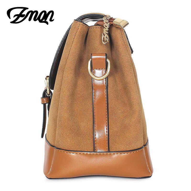 Zmqn bolsas de ombro feminina couro 2019 bolsas femininas 3 espaços haps cross corpo sacos de ombro fosco retro vintage senhoras c213