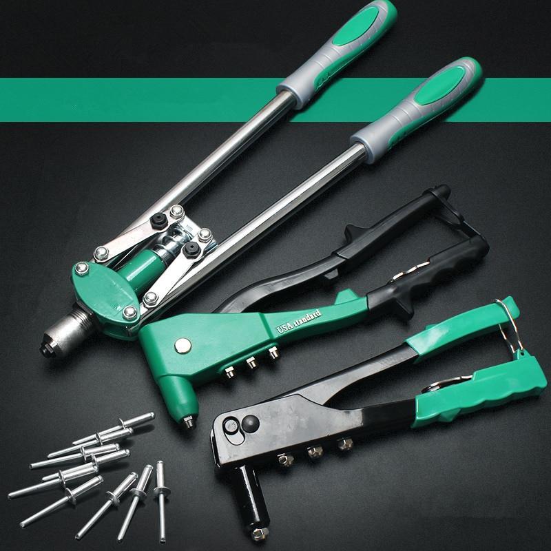Hand Riveters Gun Labor Saving Blind Rivet Guns Household Repair Riveting Tool Applicable Aluminum/Stainless Steel Nail