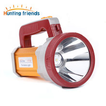 Hunting friends Powerful LED Flashlight USB Portable Lantern with Side Lamp 3 Modes Searchlight Rechargeable18650 Camping Light