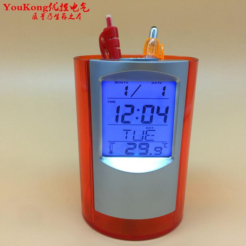 Appena Di Alta Qualità Digital Auto Termometro Con Allarme Orologio Elettronico Termometro Meter Con Il Calendario Portapenne/musica Per Classificare Prima Tra Prodotti Simili