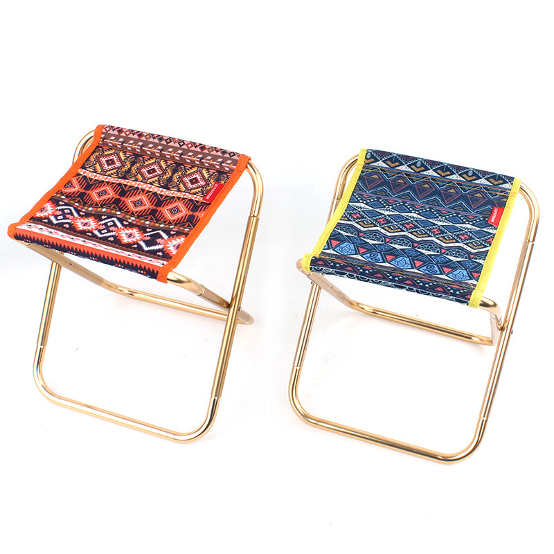 Lightweight Outdoor Folding Chair Aluminum Alloy Fishing Chair Portable For Camping Picnic Barbecue