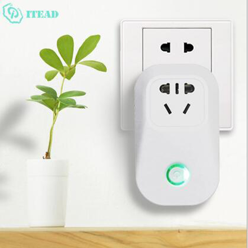 Image 4 - Itead Sonoff S20 Wifi Wireless Remote Socket Smart Timer Plug Smart Home Outlet Power Socket Work With Alexa Google Home-in Electrical Sockets from Home Improvement