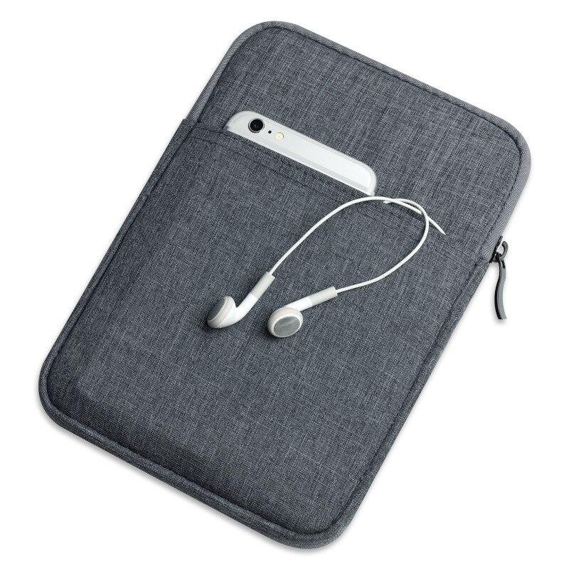 Reißverschluss nylon tablet abdeckung case für funda ipad air innen weiches fell...