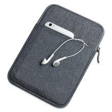 Solide nylon tablette de poche de douille de sac pour apple ipad air/air2/pro 9.7 pour ipad mini 1/2/3/4 case couverture capa para + stylet cadeau