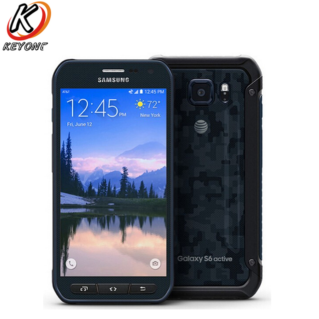 "Original Samsung Galaxy S6 Active G890A 4G LTE Mobile Phone 5.1"" Octa Core 3GB RAM 32GB ROM 16.0MP Camera Android Smart Phone"