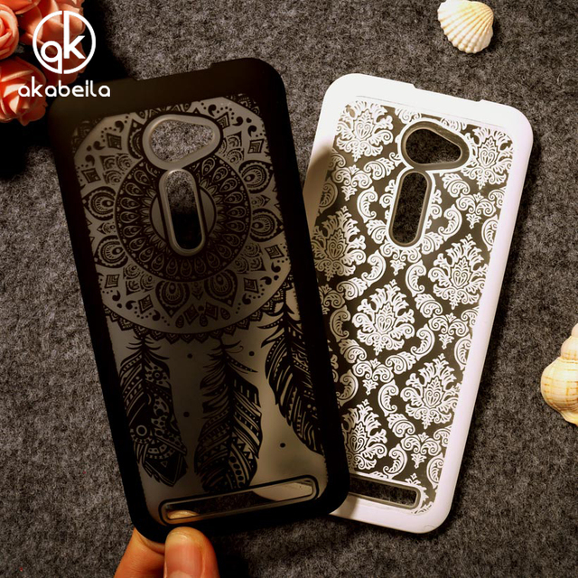 Akabeila Hollow Phone Cases For Asus Zenfone 2 ZE500CL 2E Z00D Zenfone2 5.0 Inch Phone Cover Hard Plastic Back