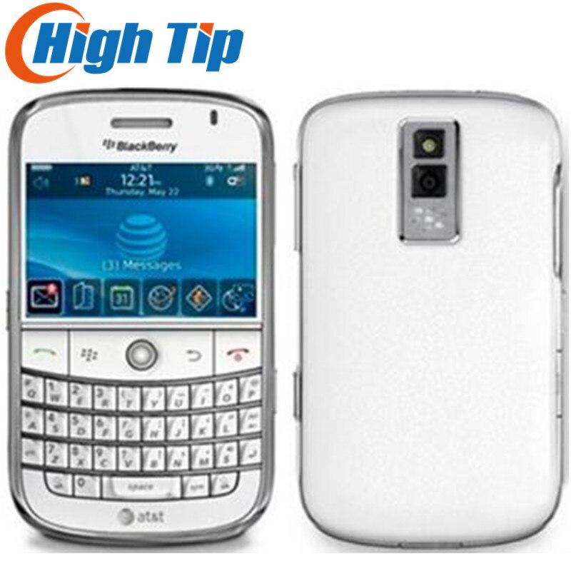 Téléphone portable d'origine BlackBerry Bold 9000 3G GPS remis à neuf livraison gratuite garantie 1 an