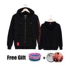 Free Gift 2019 World Tour Love Yourself Women Zipper Fashion