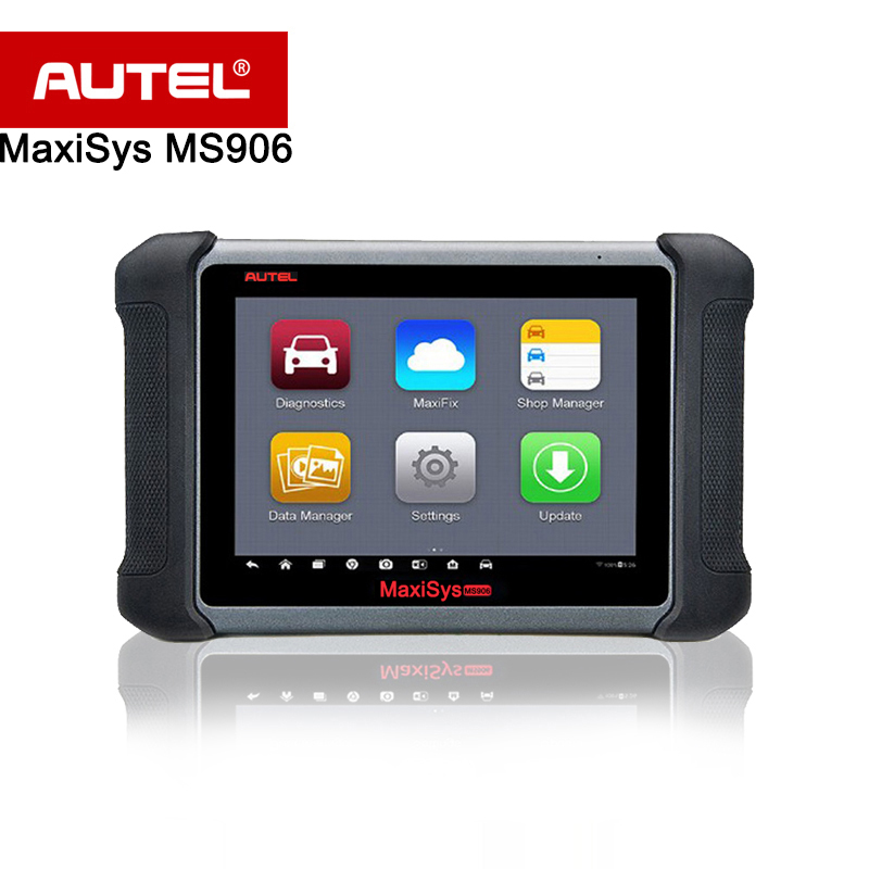 Оригинал Autel MaxiSys MS906 Беспроводной автомобиля диагностический инструмент OBD2 MaxiSys Pro сканер лучше, чем MaxiDAS DS708 и DS808