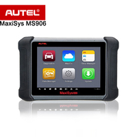 Autel MaxiSYS MS906 Auto Diagnostic Scanner Capabilities For Codes Live Data Active Test ECU Information Adaptation