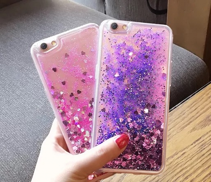 Phone Bags & Cases Half-wrapped Case Aggressive For Oppo F5 F3/ A77 Case Dynamic Liquid Glitter Quicksand Crystal Soft Tpu Back Cover For Oppo A83 A79 A73 R15 A59/f1s Coque