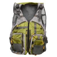 DSstyles Fly Fishing Mesh Vest Outdoor Breathable Backpack Gear Vests Adjustable Size for Men Women