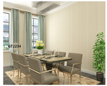 лучшая цена beibehang Simple wall paper quality modern warm living room bedroom vertical stripes nonwoven environmental protection wallpaper